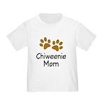 Cute Chiweenie Mom Toddler T-Shirt