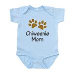 Cute Chiweenie Mom Infant Bodysuit