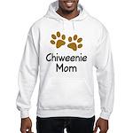 Cute Chiweenie Mom Hooded Sweatshirt