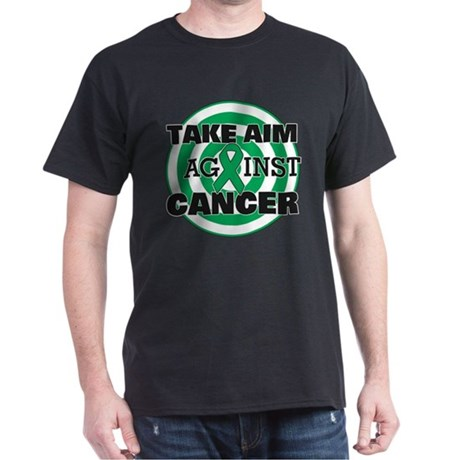Take Aim - Liver Cancer Dark T-Shirt