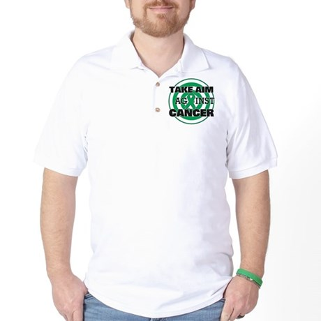 Take Aim - Liver Cancer Golf Shirt