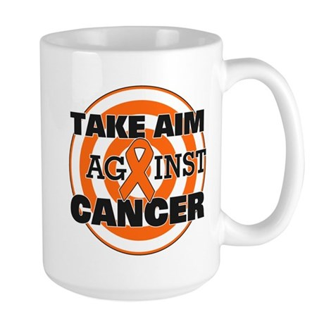 Take Aim - Kidney Cancer Large Mug