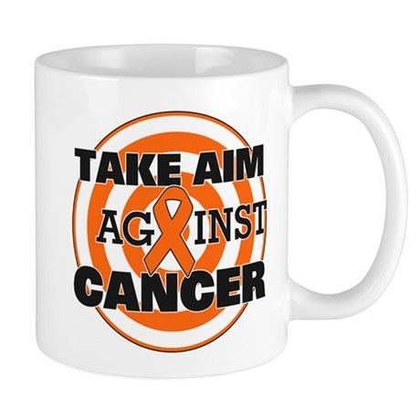 Take Aim - Kidney Cancer Mug