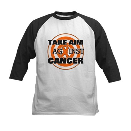 Take Aim - Kidney Cancer Kids Baseball Jersey