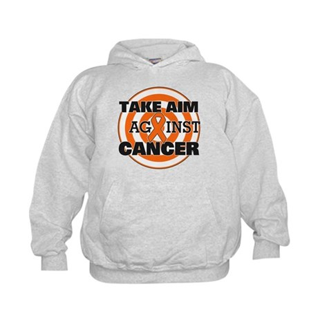Take Aim - Kidney Cancer Kids Hoodie
