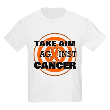 Take Aim - Kidney Cancer Kids Light T-Shirt