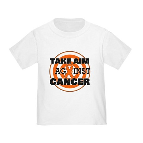 Take Aim - Kidney Cancer Toddler T-Shirt