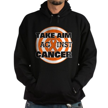 Take Aim - Kidney Cancer Hoodie (dark)