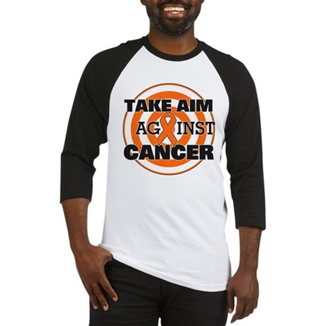 Take Aim - Kidney Cancer Baseball Jersey