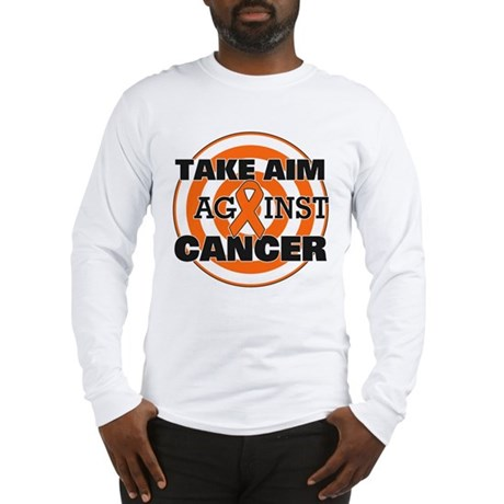 Take Aim - Kidney Cancer Long Sleeve T-Shirt
