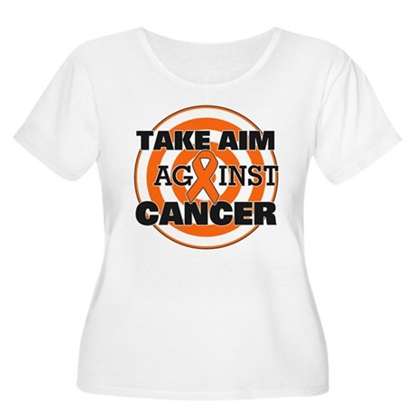 Take Aim - Kidney Cancer Women's Plus Size Scoop N