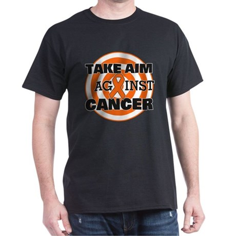 Take Aim - Kidney Cancer Dark T-Shirt
