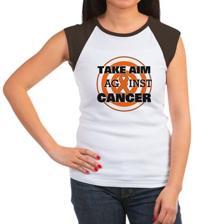 Take Aim - Kidney Cancer Women's Cap Sleeve T-Shir