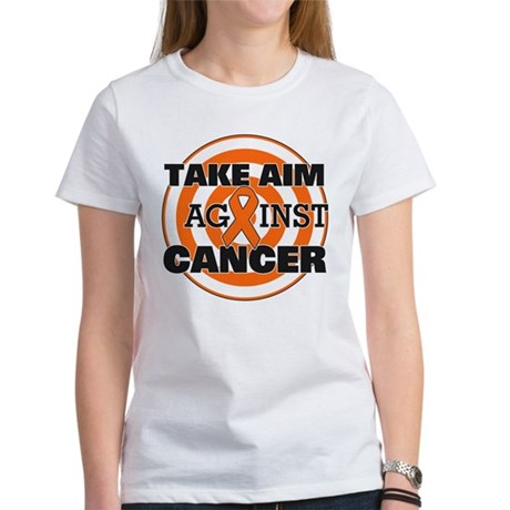 Take Aim - Kidney Cancer Women's T-Shirt
