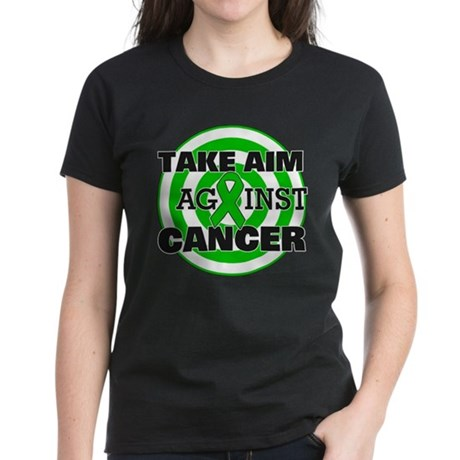 Take Aim - Kidney Cancer Women's Dark T-Shirt