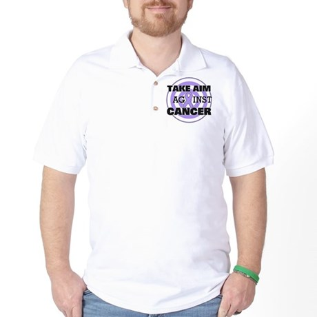 Take Aim - General Cancer Golf Shirt
