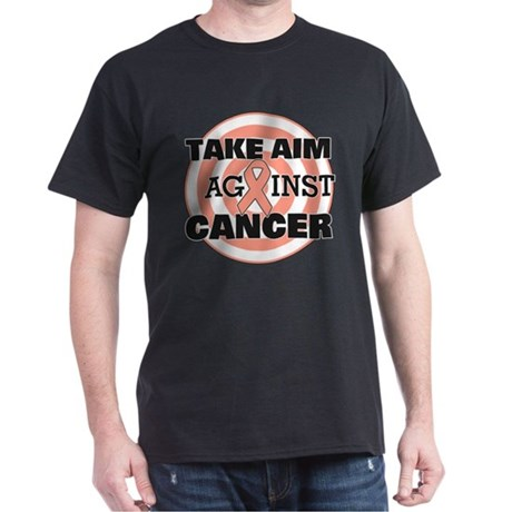 Take Aim - Endometrial Cancer Dark T-Shirt