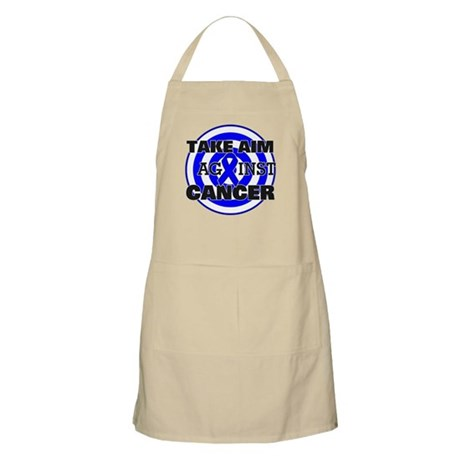 Take Aim - Colon Cancer Apron