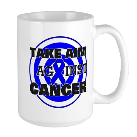 Take Aim - Colon Cancer Large Mug