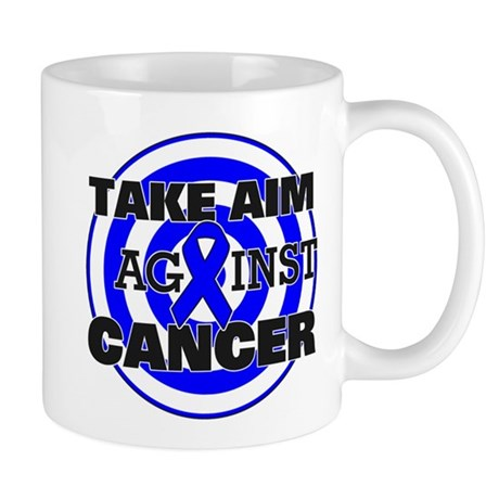 Take Aim - Colon Cancer Mug