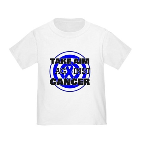 Take Aim - Colon Cancer Toddler T-Shirt
