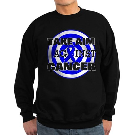 Take Aim - Colon Cancer Sweatshirt (dark)