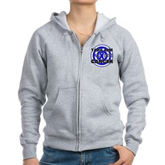 Take Aim - Colon Cancer Women's Zip Hoodie