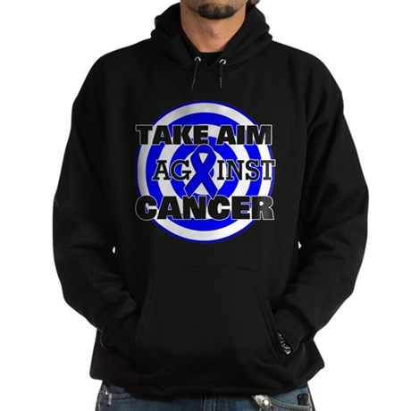 Take Aim - Colon Cancer Hoodie (dark)