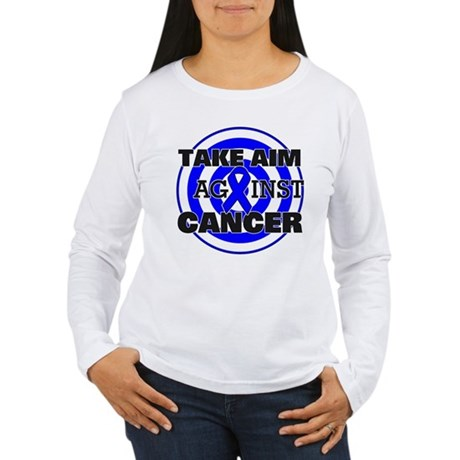 Take Aim - Colon Cancer Women's Long Sleeve T-Shir