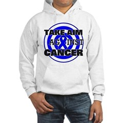 Take Aim - Colon Cancer Hooded Sweatshirt