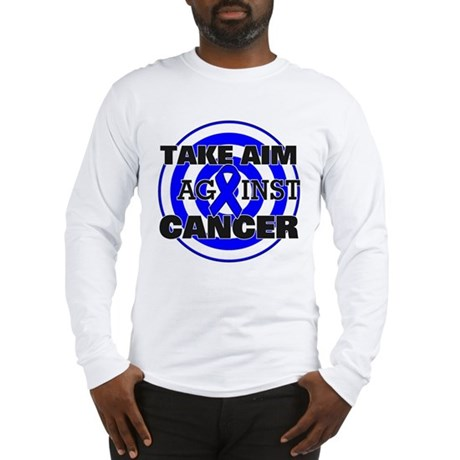 Take Aim - Colon Cancer Long Sleeve T-Shirt