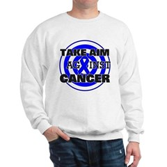 Take Aim - Colon Cancer Sweatshirt