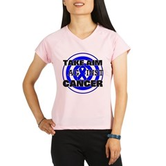 Take Aim - Colon Cancer Women's Sports T-Shirt