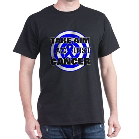 Take Aim - Colon Cancer Dark T-Shirt