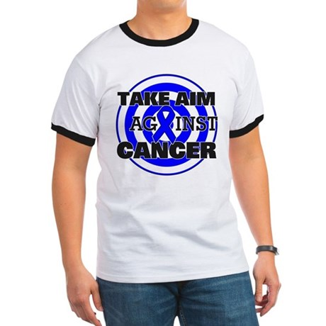 Take Aim - Colon Cancer Ringer T