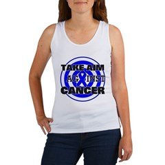 Take Aim - Colon Cancer Women's Tank Top