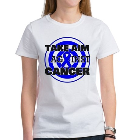 Take Aim - Colon Cancer Women's T-Shirt
