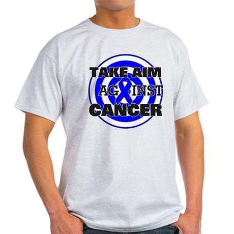 Take Aim - Colon Cancer Light T-Shirt