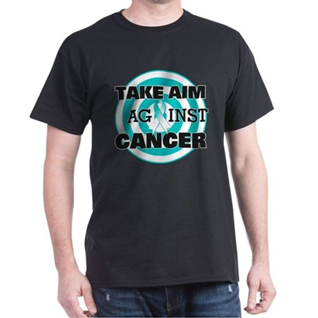 Take Aim - Cervical Cancer Dark T-Shirt