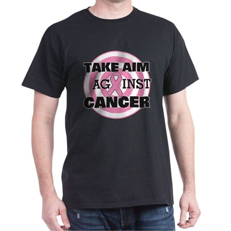 Take Aim - Breast Cancer Dark T-Shirt