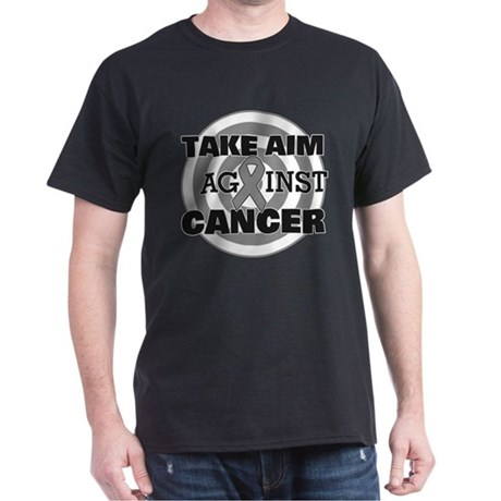 Take Aim - Brain Cancer Dark T-Shirt
