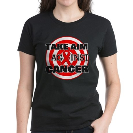 Take Aim - Blood Cancer Women's Dark T-Shirt