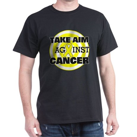 Take Aim - Bladder Cancer Dark T-Shirt