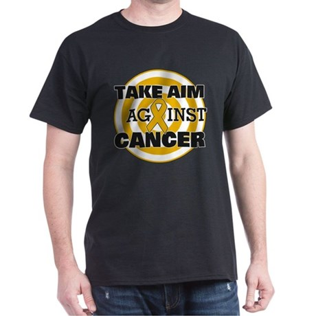 Take Aim - Appendix Cancer Dark T-Shirt