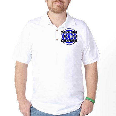 Take Aim - Anal Cancer Golf Shirt