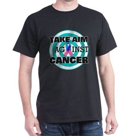 Take Aim - Thyroid Cancer Dark T-Shirt