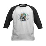 Cuddly Kittens Kids Baseball Jersey