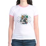 Cuddly Kittens Jr. Ringer T-Shirt