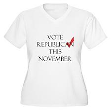 Vote Republican Get It RIGHT T-Shirt