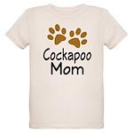 Cute Cockapoo Mom Organic Kids T-Shirt